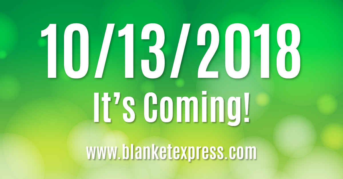 Something's Coming 10/13/2018 Blanket Express